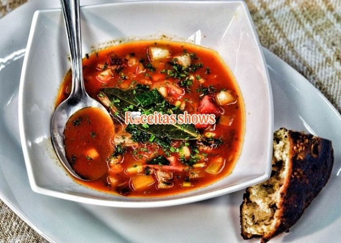 Sopa de vegetais diet - Receitas Shows